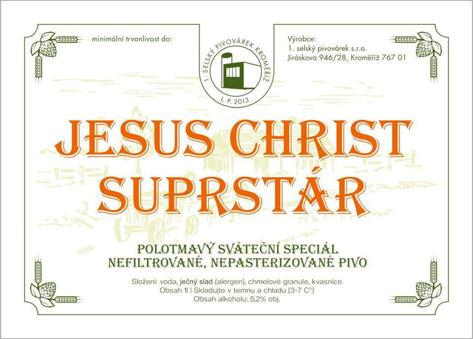 Jesus Christ Superstár 13 - India Pale Lager