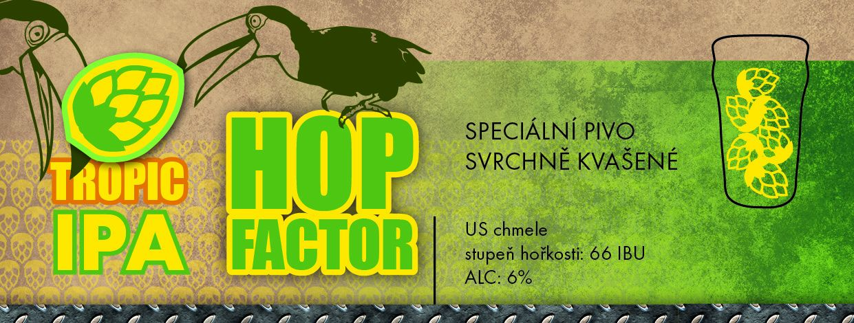 Hop Factor 15 - Tropic IPA