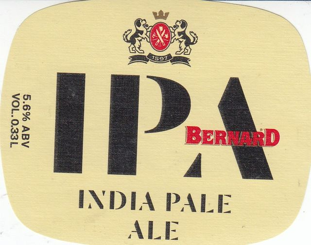Bernard IPA 12 - India Pale Ale (5,6
