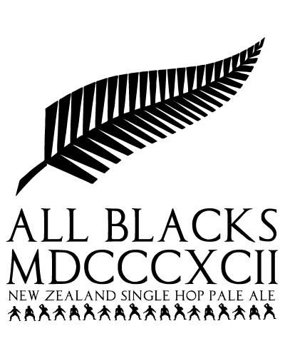 All Blacks MDCCCXCII 12 - Pale Ale