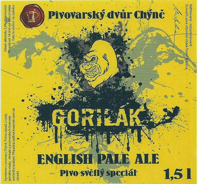 Chýně Gorilák 14 - English Pale Ale