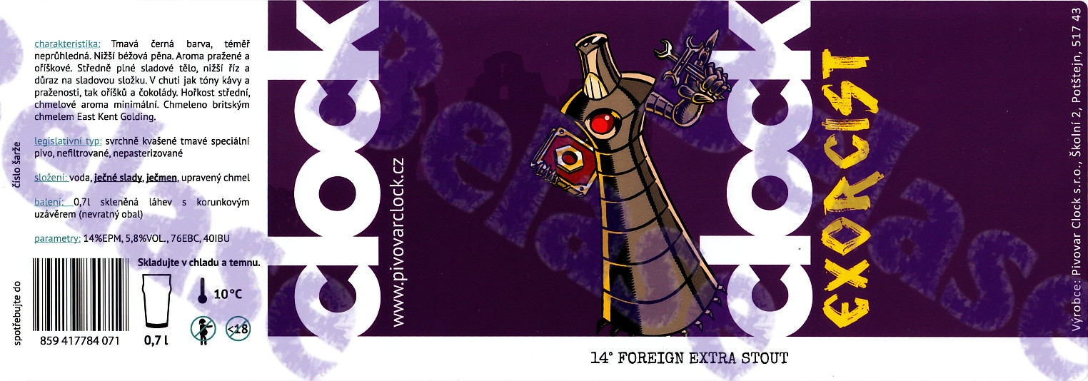 Exorcist 14 - Foreign Extra Stout