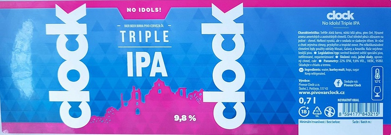 No Idols 22 - Triple IPA