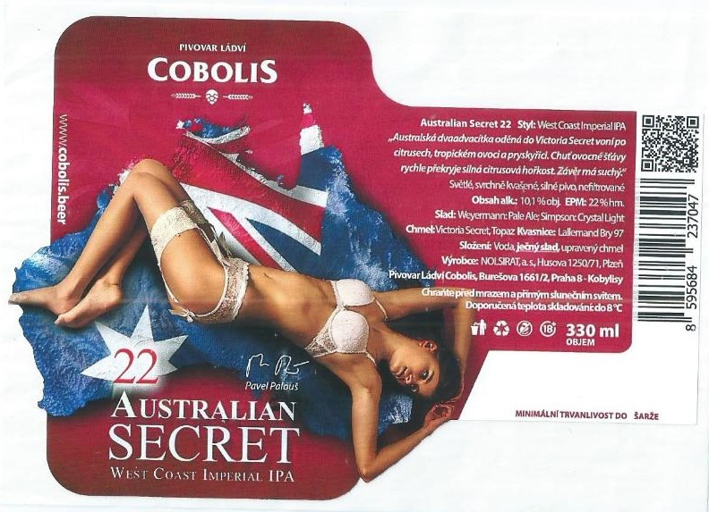 Cobolis Australian Secret 22 - West Coast Imperial IPA