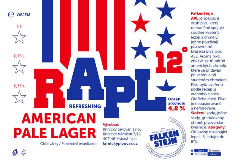 RAPL 12 - Refreshing American Pale Lager