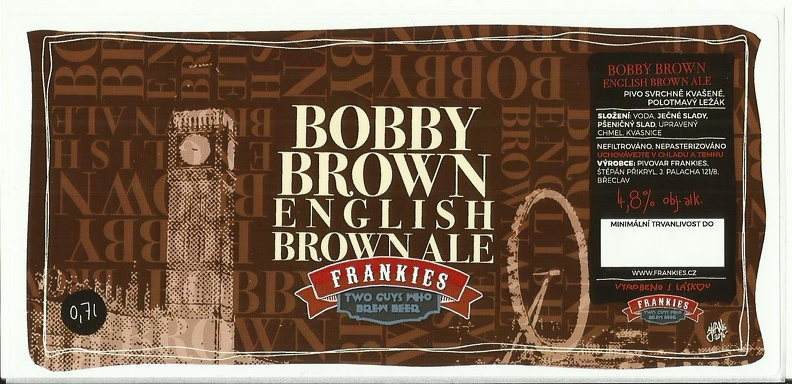 Bobby Brown 12,8 - Scottish Brown Ale