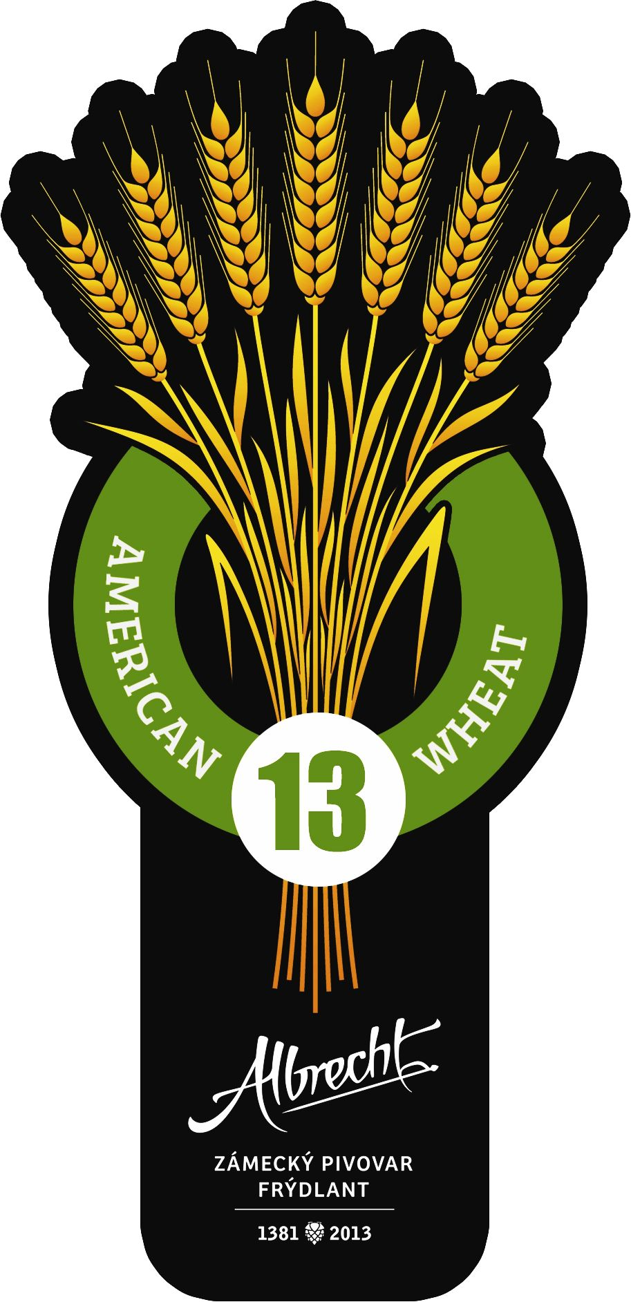 Albrecht American Wheat 13 - Pale Wheat Ale