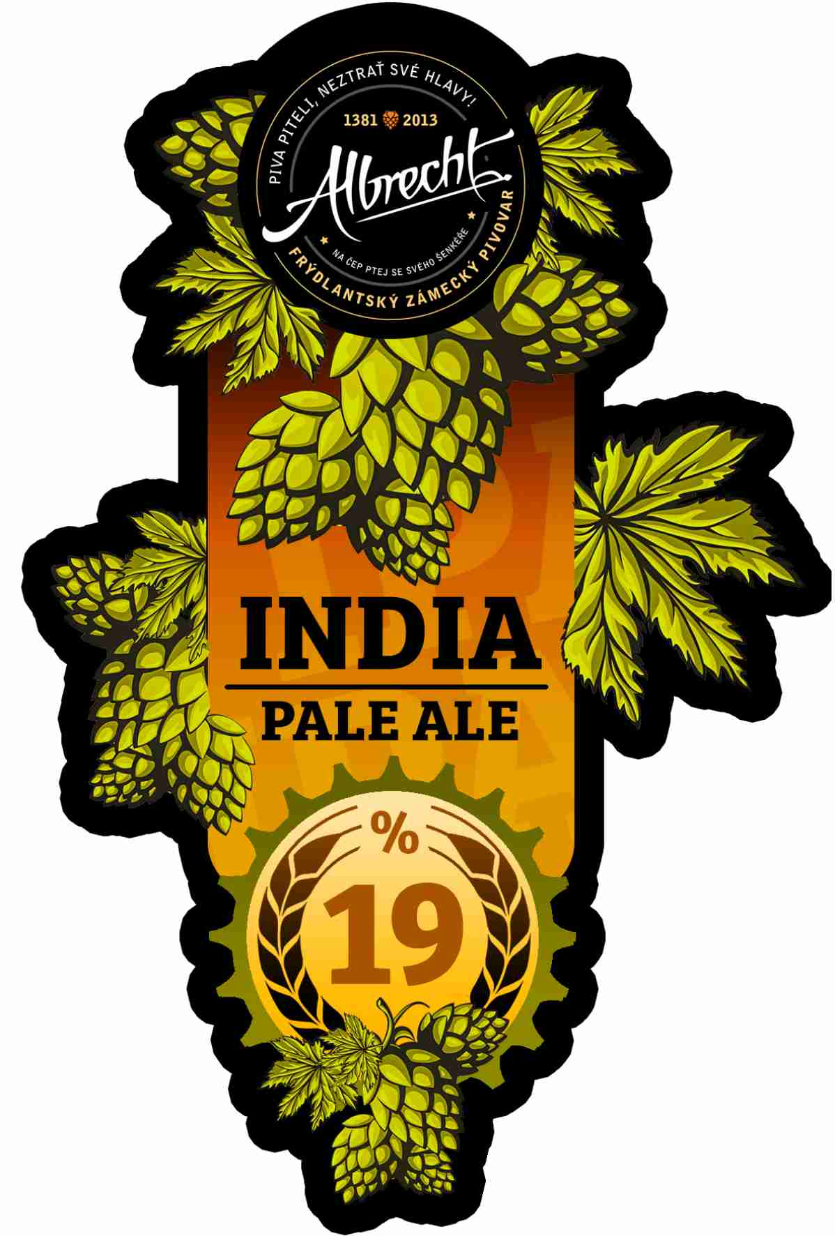 Albrecht India Pale Ale 19 - Double IPA