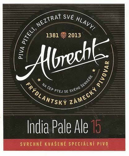Albrecht IPA 15 - American India Pale Ale