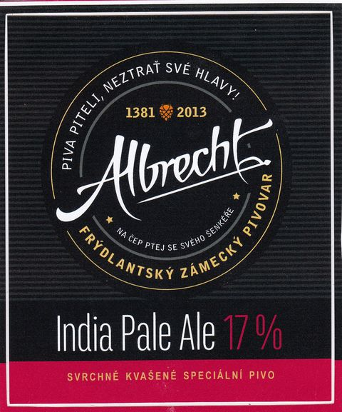 Albrecht IPA 17 - India Pale Ale