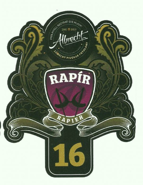 Rapír 16 - India Pale Ale