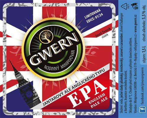 Gwern EPA 12 - English Pale Ale