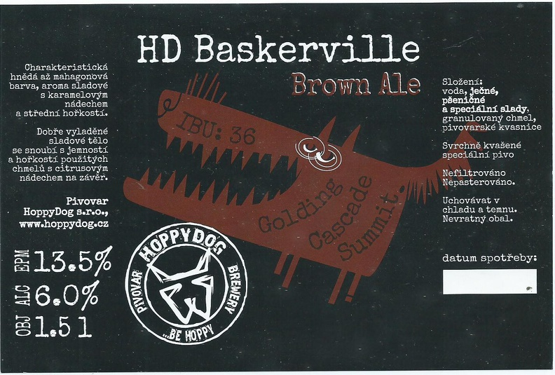 Baskerville 13,5 - Brown Ale