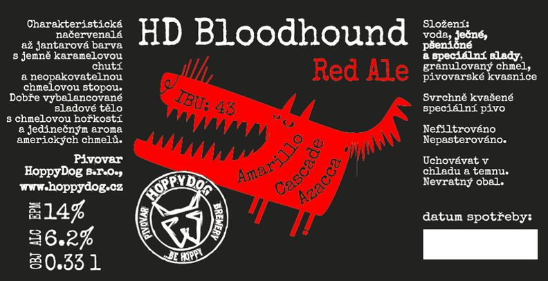 Bloodhound 14 - Red Ale