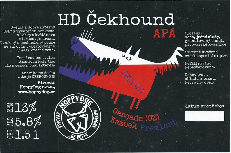 Čekhound 13 - APA