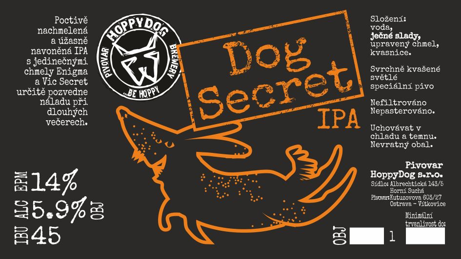 Dog Secret 14 - IPA