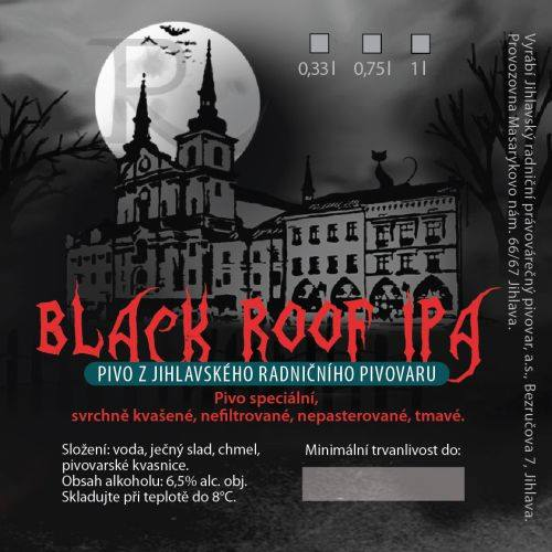 Black Roof Ipa 15 - Black IPA