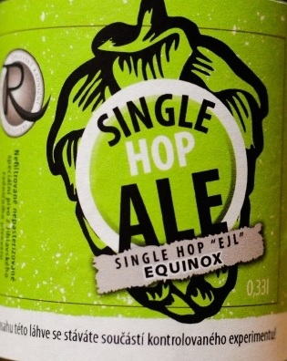 Single Hop Ale Equinox 12,2° -  single hop, APA