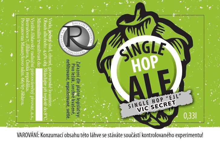 Single Hop Ale Vic Secret 12,7 - single hop, APA