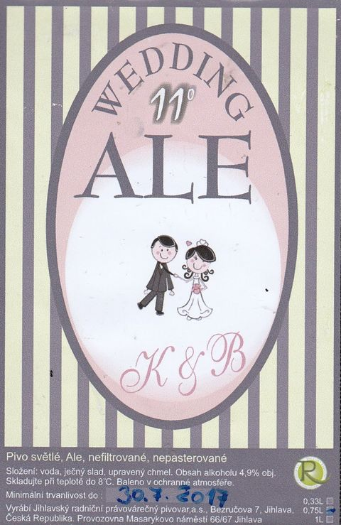 Wedding Ale 11 K&B - Ale