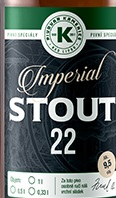 Imperial Stout 22,8 - Imperial/Russian Stout