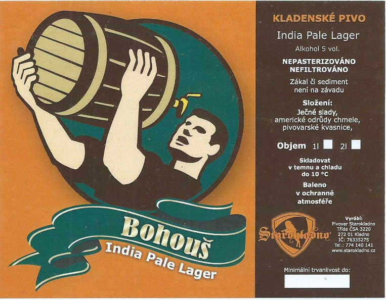 Bohouš IPL 13 - India Pale Lager