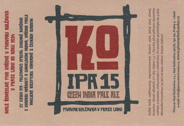 IPA 15 - Czech India Pale ALe