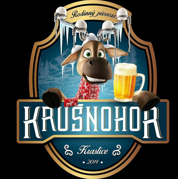 Krušnohor Mountain Ale Winter Edition 14 - English Strong Ale