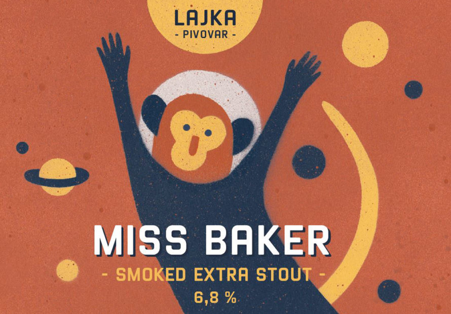 Miss Baker 16 - smoked Extra Stout