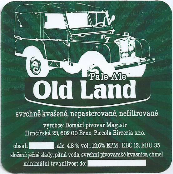 Old Land Ale 12