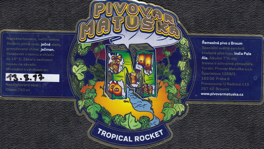 Matuška Tropical Rocket 17 - IPA