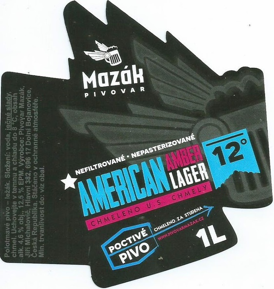 Mazák AAL 13 - American Amber Lager