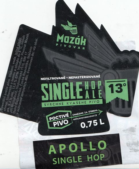 Single Hop Ale Apollo 13,5 - Pale Ale