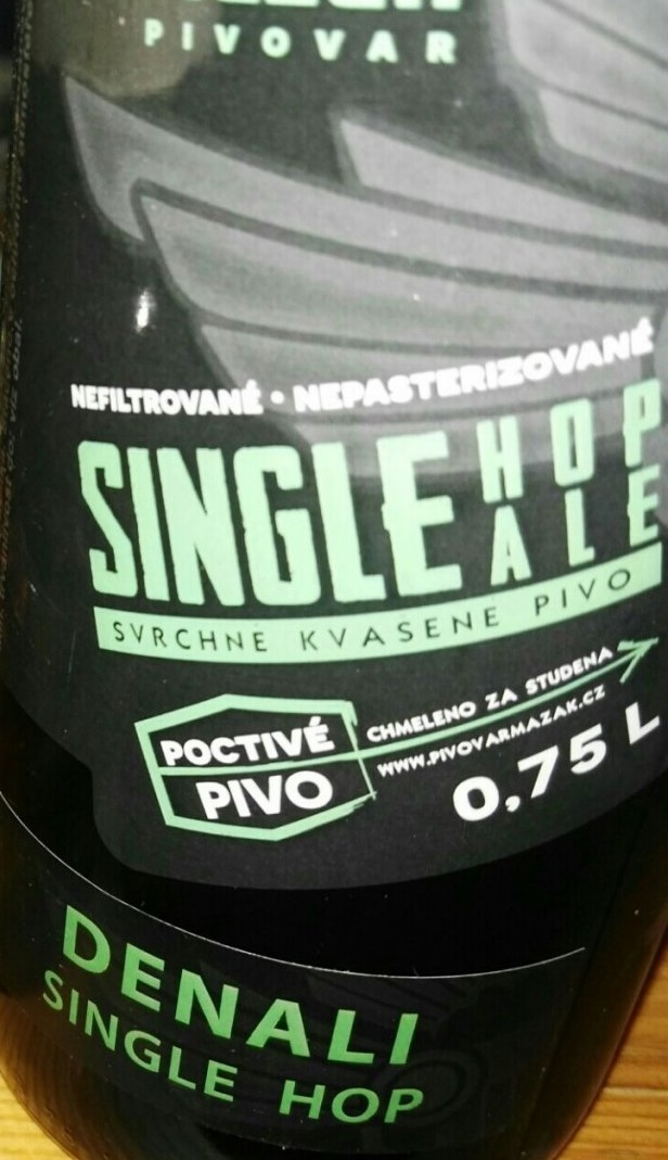 Single Hop Ale Denali 13,5 - Pale Ale