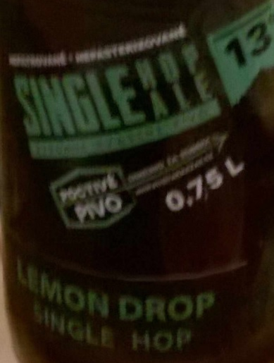 Single Hop Ale Lemondrop 13,5 - Pale Ale