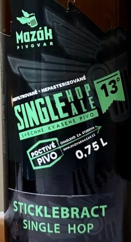 Single Hop Ale Sticklebract 13 - Pale Ale