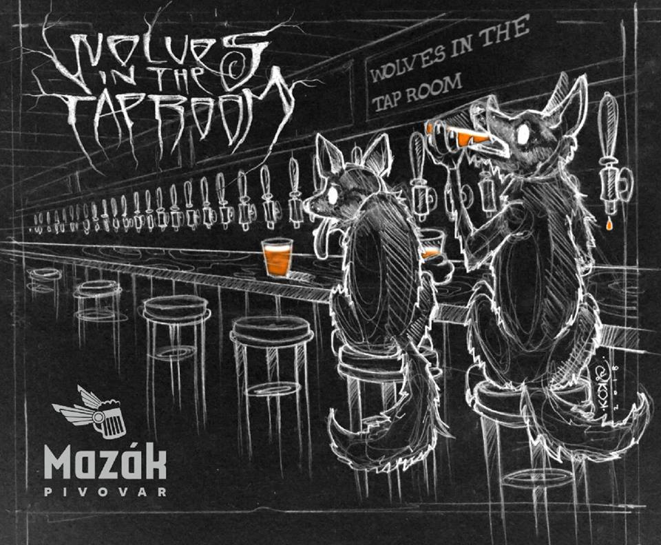 Wolves in the Tap Room 14 - Black/Cascadian Dark Ale