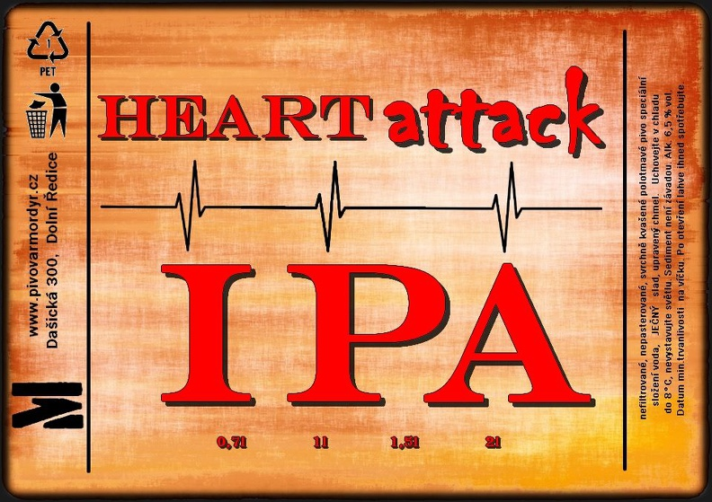 Mordýř Heart Attack 15 - IPA