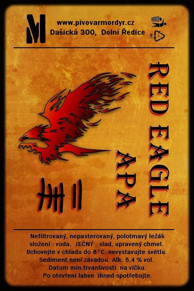 Mordýř Red Eagle 12,5 - APA