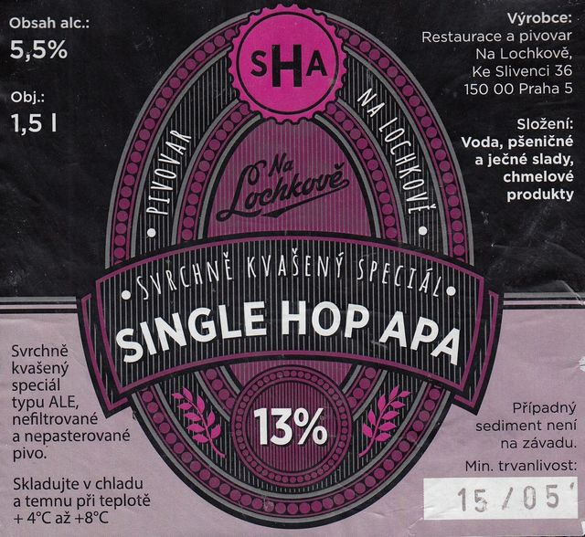 Single hop Amarillo 13 - APA