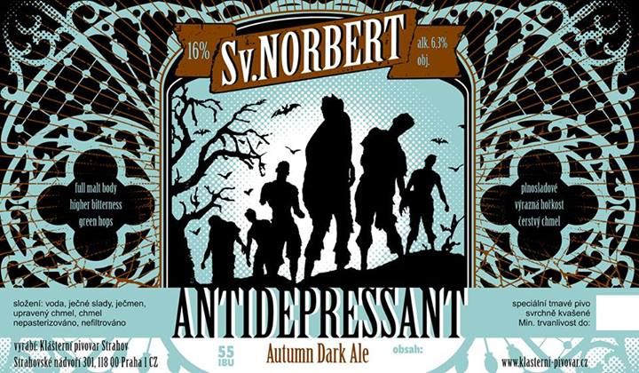 Antidepressant Autumn Dark Ale 16 - Brown Ale