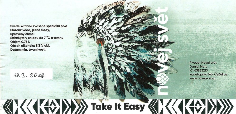 Take It Easy 13 - American Ale