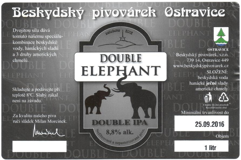 Double Elefant 19 - Double IPA