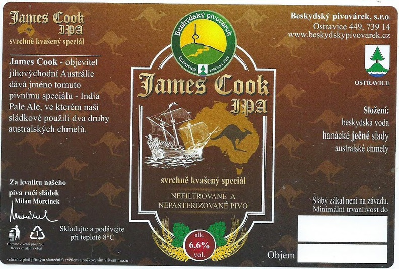 James Cook 15 - IPA