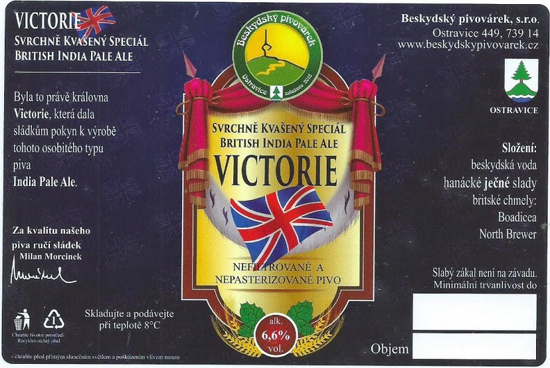 Victorie 15 - British Pale Ale
