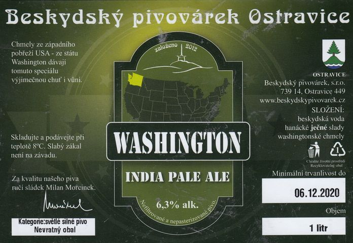 Washington 15 - IPA