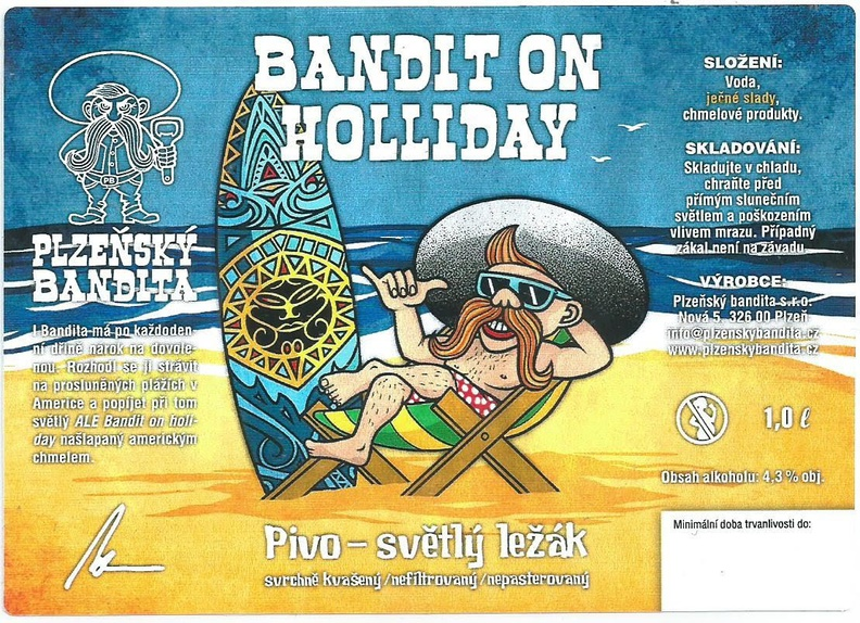 Bandit on Holliday 11 - Summer ALE