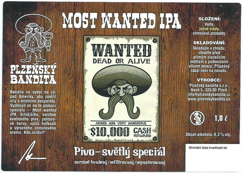 Most Wanted IPA 13