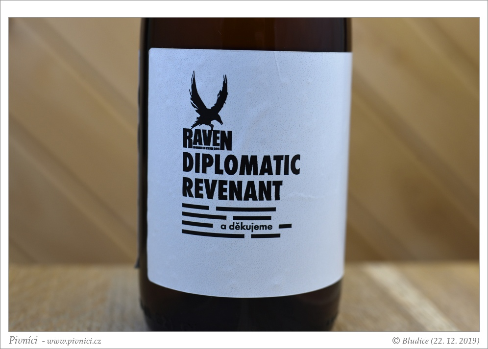 Diplomatic Revenant 21 - Imperial Stout