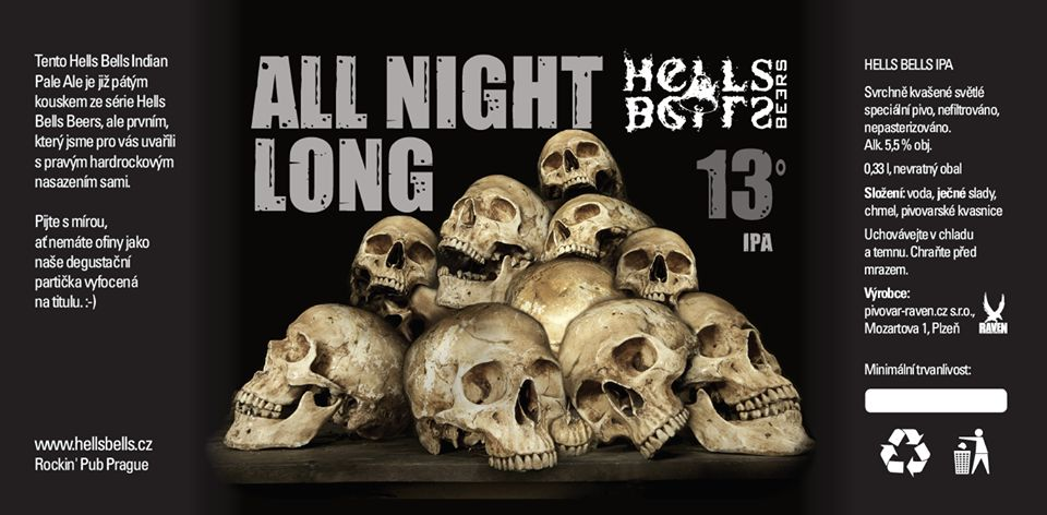 Hells Bells All Night Long 13 - IPA
